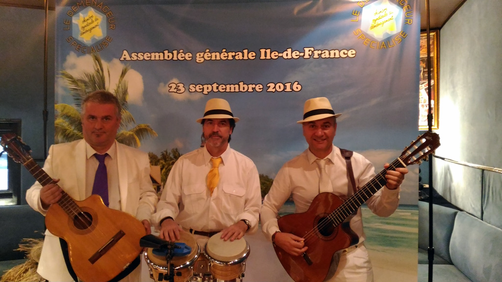 Groupe latino musique cubaine traditionnelle