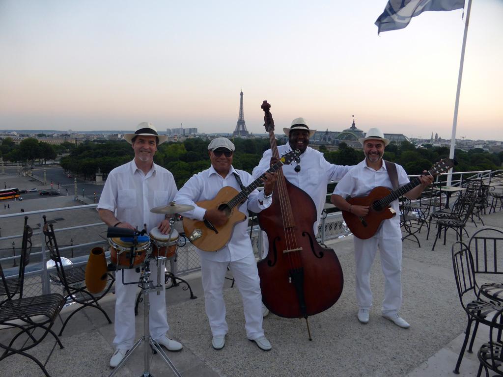 Groupe de musique latine Paris