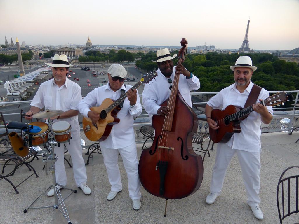 Orchestre de musique latine Paris