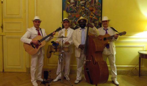 groupe latino OHLATINO quartet maison amerique latine