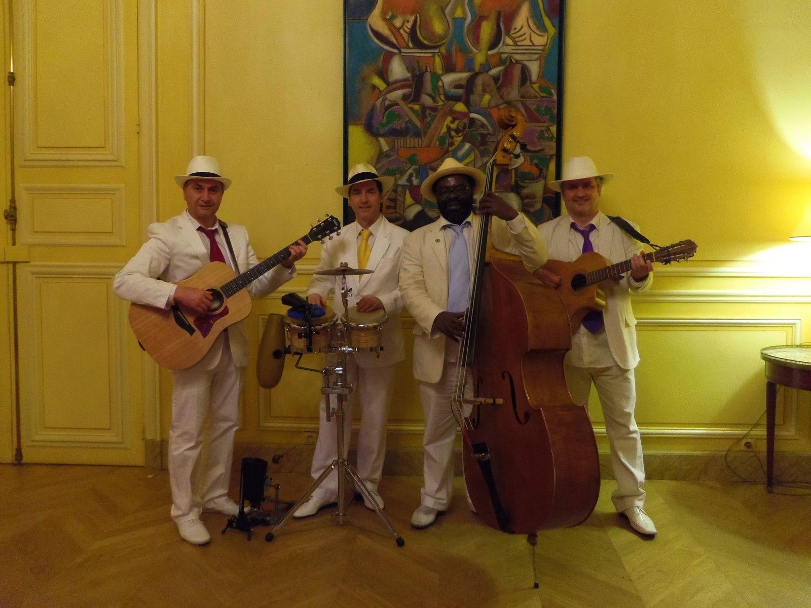 Groupe latino OHLATINO en quartet Maison de l'Amérique Latine
