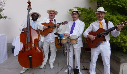 orchestre latino OHLATINO cocktail de mariage