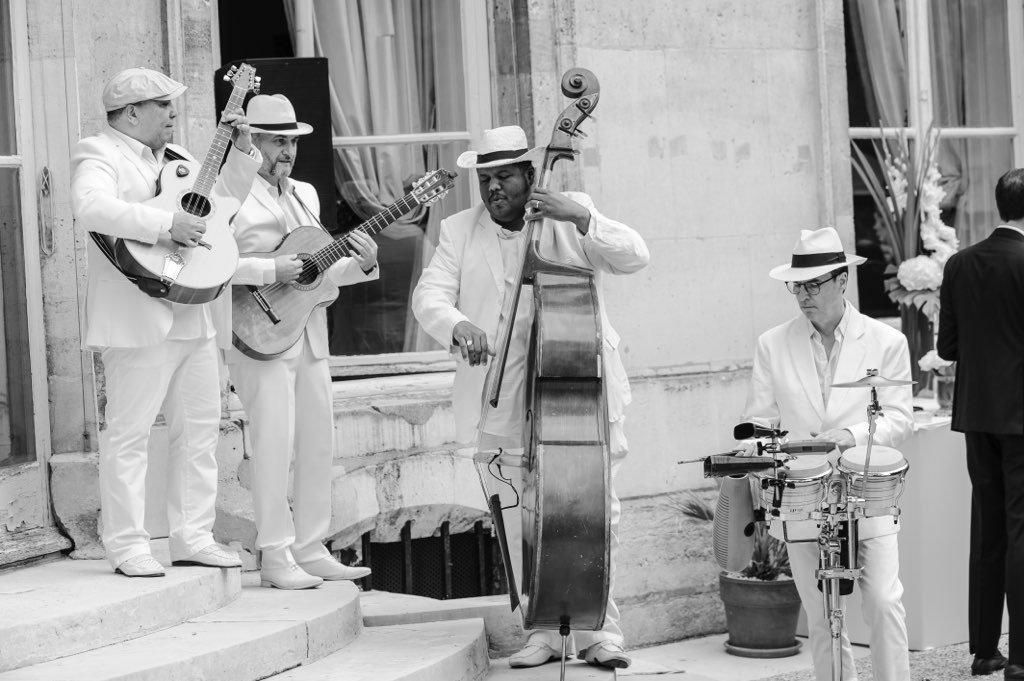 Musique cubaine avec le groupe latino OH LATINO