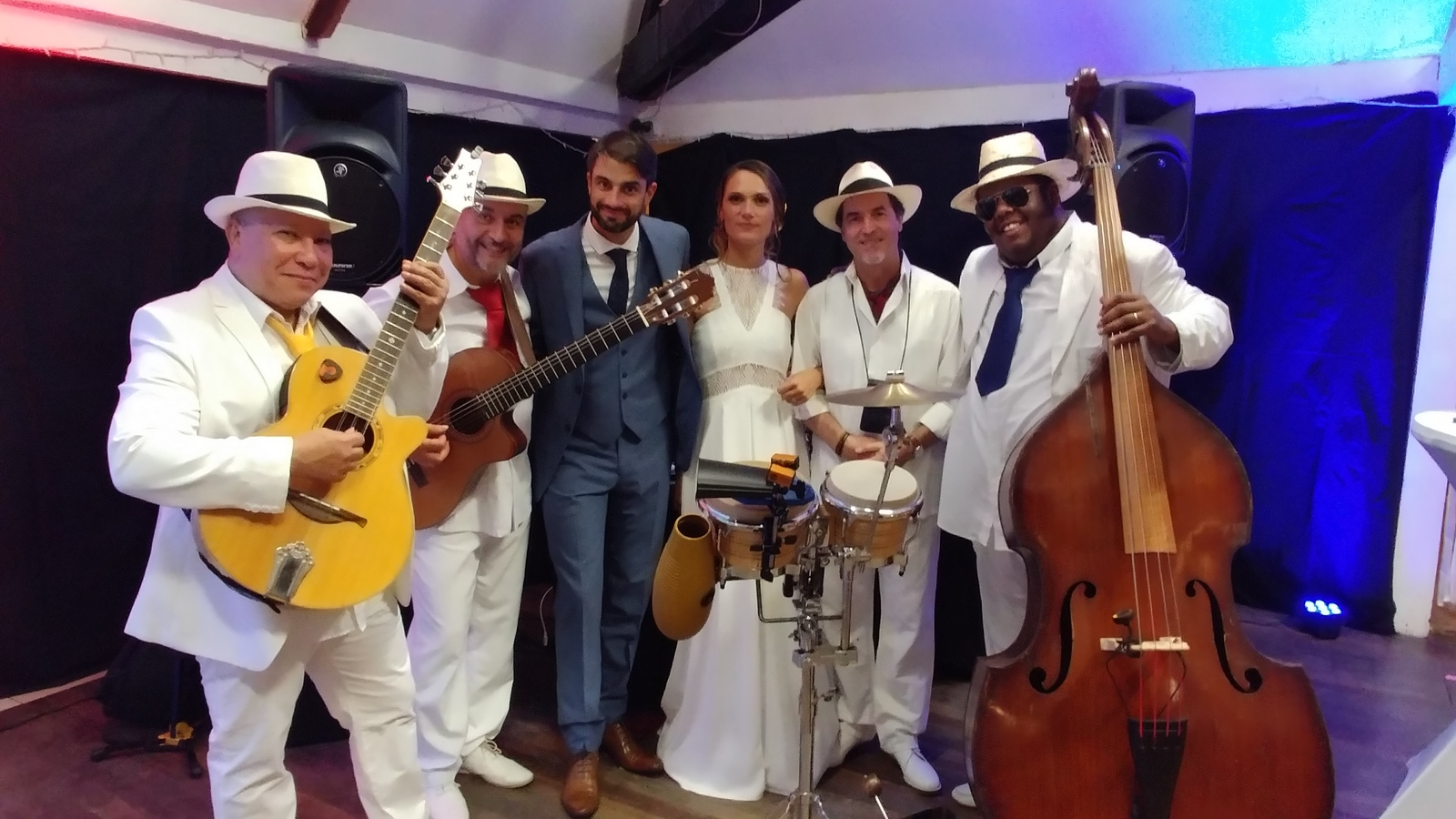 Orchestre salsa mariage musique latine Paris